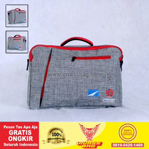 Tas Seminar Multi Denim Warna Abu Muda – Vivass Bag Product